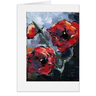 """Poppy Love"" Card"