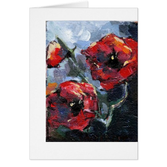 """Poppy Love"" Card"