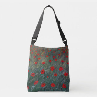 poppy meadow crossbody bag
