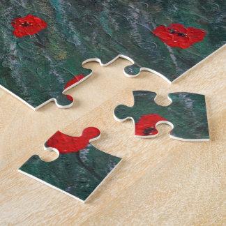 poppy meadow jigsaw puzzle