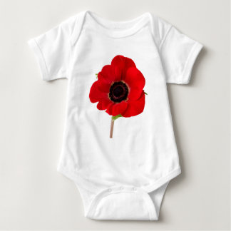 POPPY of Remembrance Baby Bodysuit