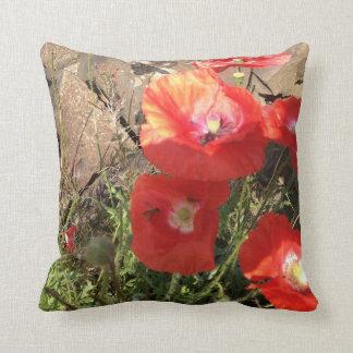 Poppy Passion Cushion