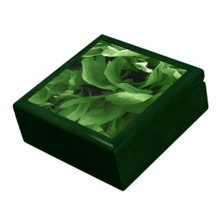 Poppy Petals Abstract Large Square Gift Box