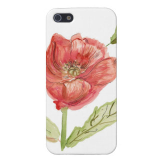 Poppy phone case case for the iPhone 5