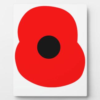 Poppy Plaque