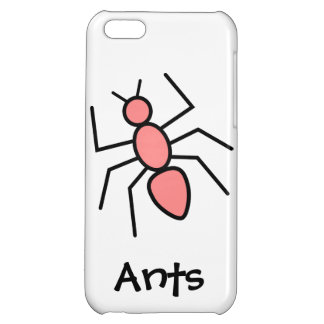 Poppy Red Vector Ant iPhone 5C Cover