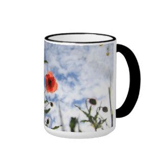Poppy Ringer Mug