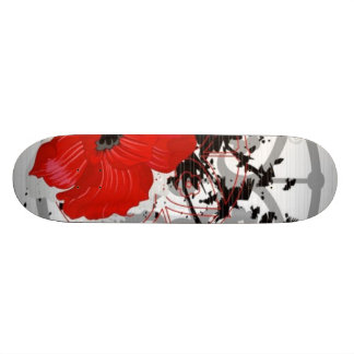 Poppy Skin Board Custom Skate Board