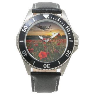 Poppy Spitfire Watch