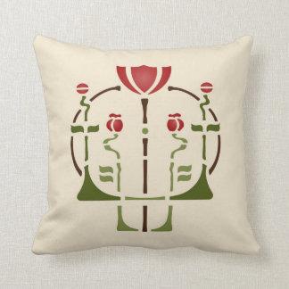 Poppy Stencil Cushion