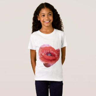 Poppy. text. T-Shirt