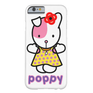 Poppy the puppy barely there iPhone 6 case