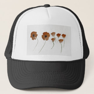 Poppy Watercolour Trucker Hat