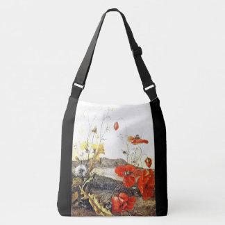 Poppy Wildflower Flowers Ka'iulani Tote Bag