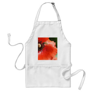 Poppy with Hover Fly Apron