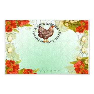 Poppys eggs stationary stationery