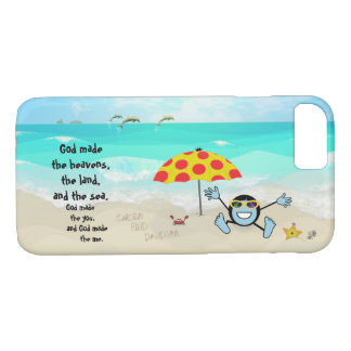 Pops' Peeps Beach Boy iPhone 8/7 Case