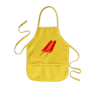 Popsicle Apron - Cherry