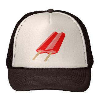 Popsicle hat - Cherry