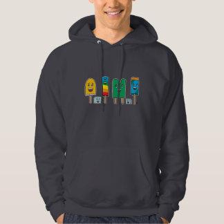 Popsicle Parade - Basic Hooded Sweatshirt