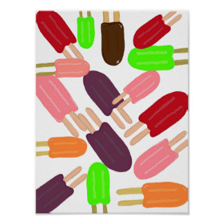 Popsicle Paradise Poster