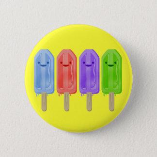 Popsicles 6 Cm Round Badge