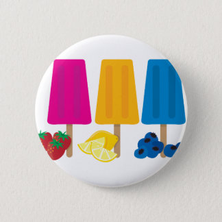 Popsicles 6 Cm Round Badge