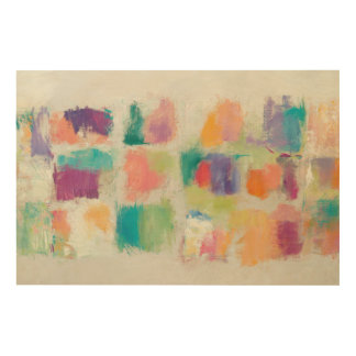 Popsicles Horizontal Stone Abstract Print