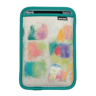 Popsicles Horizontal Stone Abstract Print iPad Mini Sleeve