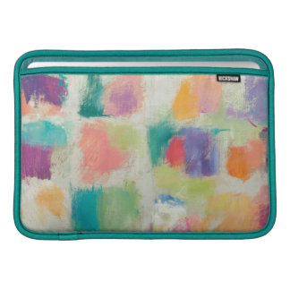 Popsicles Horizontal Stone Abstract Print Sleeve For MacBook Air