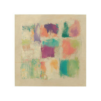 Popsicles II Stone Abstract Print | Mike Schick