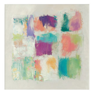 Popsicles II Stone Abstract Print | Mike Schick Acrylic Wall Art