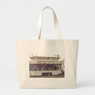 Pop't Corn and Snow Cones Rural County Fair Large Tote Bag