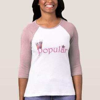 """""""Popular"""" 3/4 sleeve womens t-shirt"""