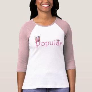 Popular 3 4 womens t-shirt pink