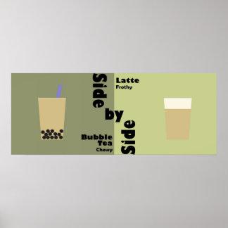 Popular beverages poster