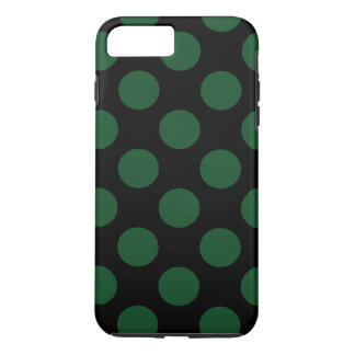 Popular Black and Green Polka Dots iPhone 7 Plus Case
