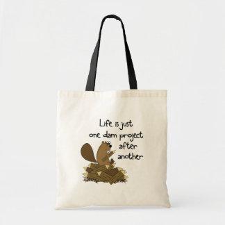 Popular Funny Beaver at Work Bag
