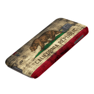 Popular Grunge California Republic Flag Cases For Galaxy S5