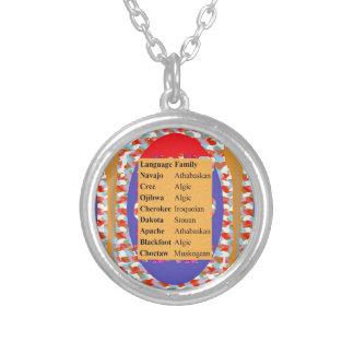 Popular Native American Languages List: Be PROUD Pendants