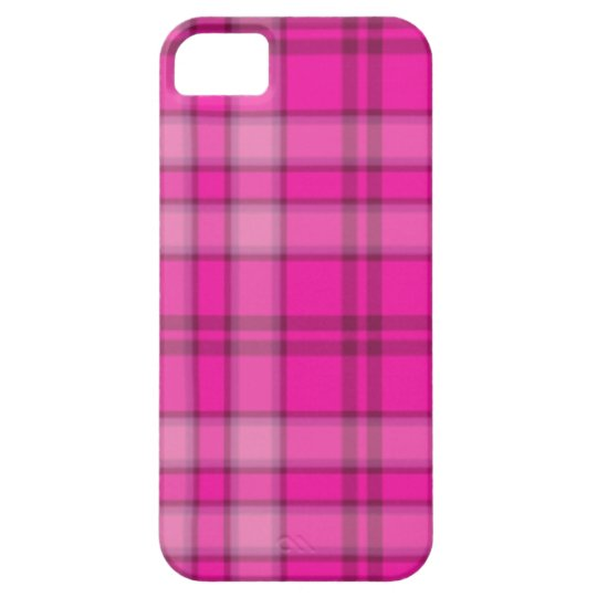 Popular Pink Plaid iPhone 5 Covers