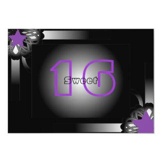 Popular Sweet Sixteen  -Customize 13 Cm X 18 Cm Invitation Card