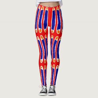 Popular Trendy Colorful Watercolor Leggings