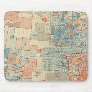 Popular vote 1880 mouse mat