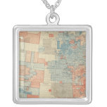 Popular vote 1880 silver plated necklace