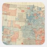 Popular vote 1880 square sticker