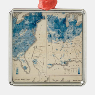 Population United States census 2 Christmas Ornament