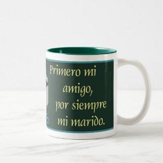 Por Siempre Mi Marido© Taza Two-Tone Mug