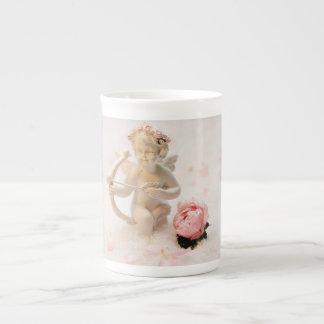 Porcelain angel tea cup