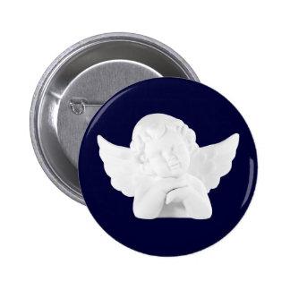 Porcelain Cupid Button